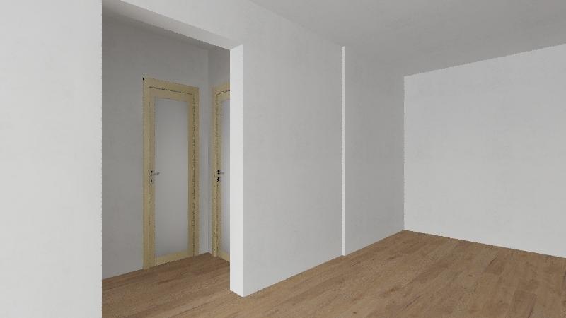 Gingerbread House Interior Design Render