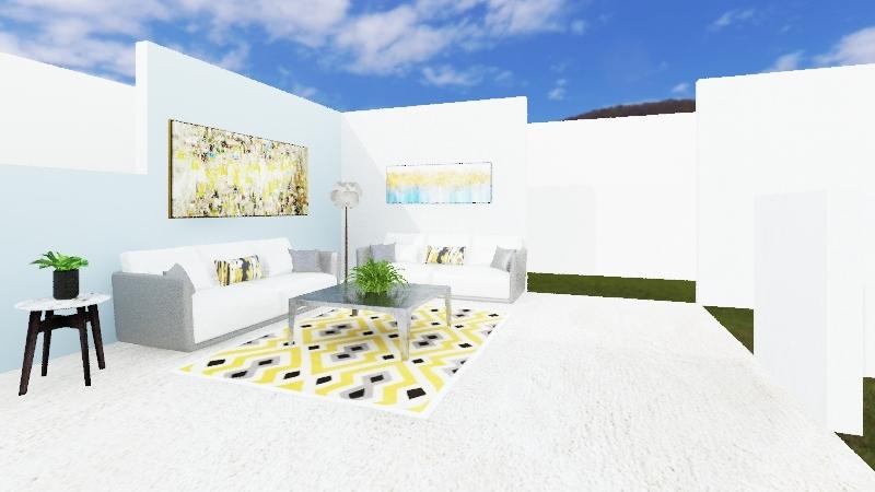eCommerce Lounge Interior Design Render