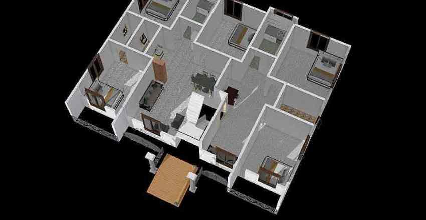 Latest Home Plan Interior Design Render