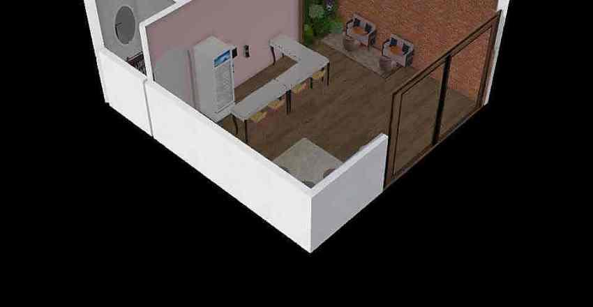 Feito em Casa Interior Design Render