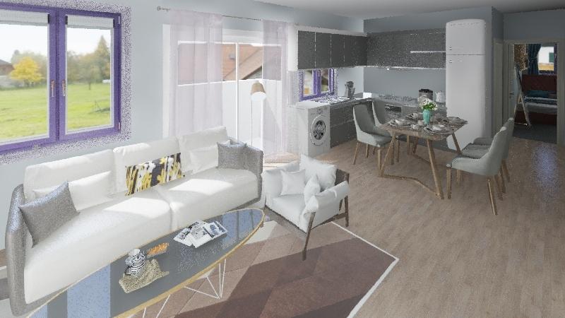 Hmale Room Interior Design Render