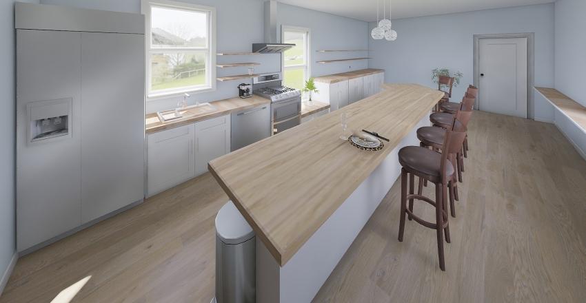 101 Myrtle Ave Kitchen Interior Design Render