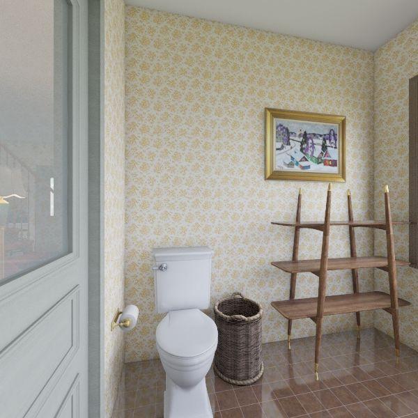 Vintage HOME Interior Design Render