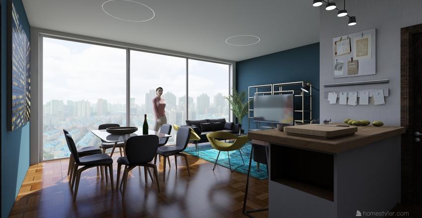 Interior sala Interior Design Render