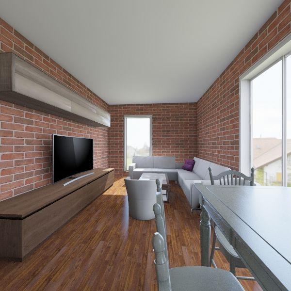 parkowa, szczecinek Interior Design Render