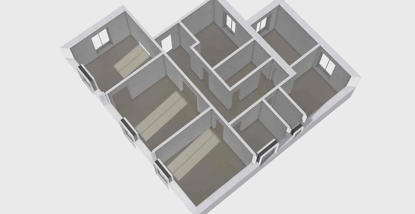 Plan Erena existant Interior Design Render
