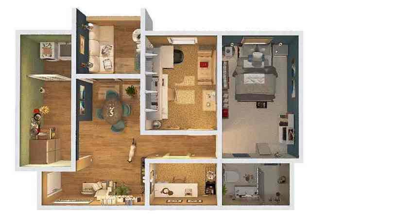 Sueli Projeto Interior Design Render