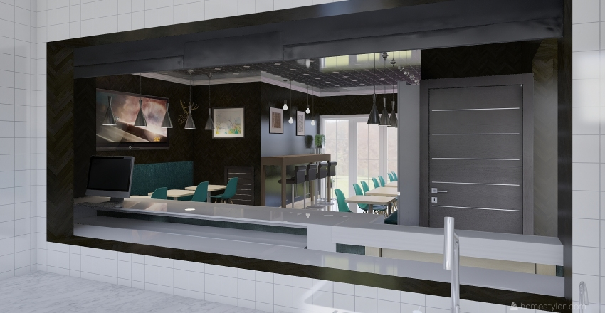 business King Wings Interior Design Render