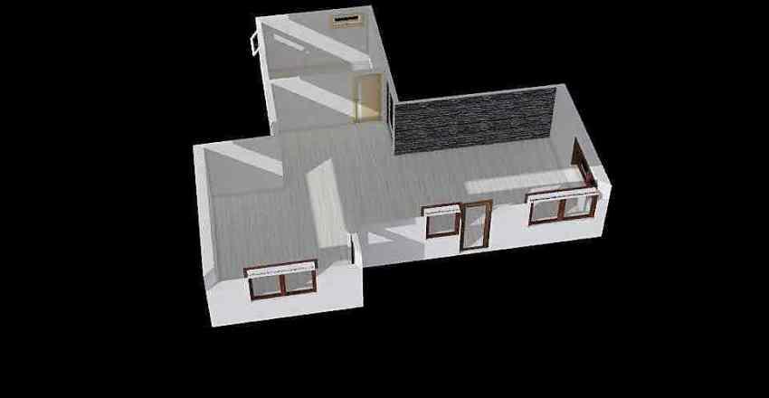 půdorys Interior Design Render