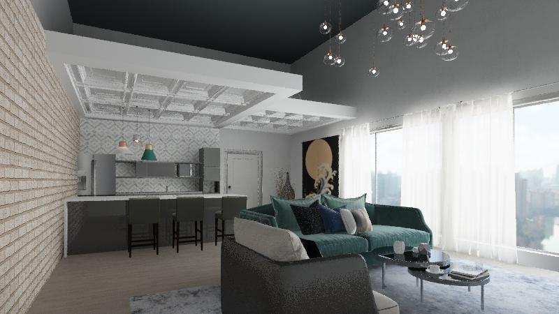 CLAU 2.4 Interior Design Render
