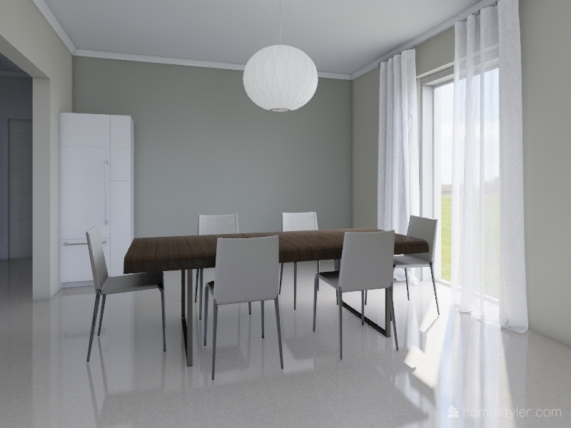 Plan Erena projet Interior Design Render