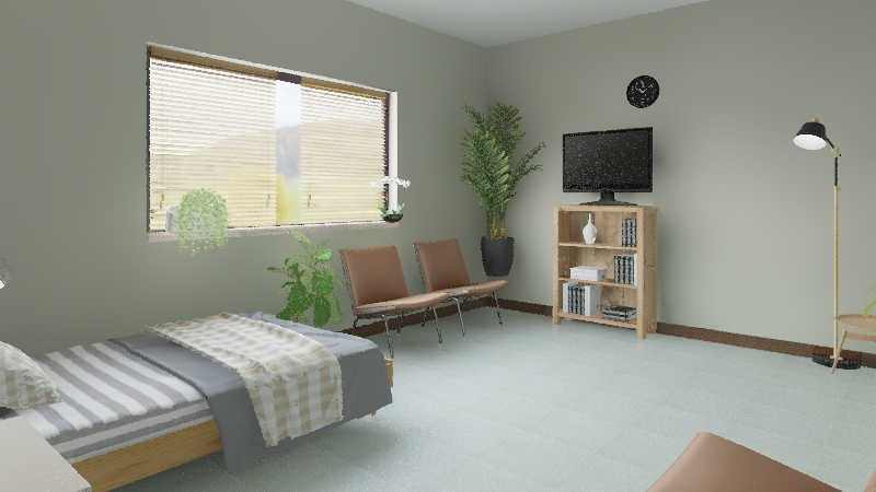 Demon Box - Retirement Home Interior Design Render