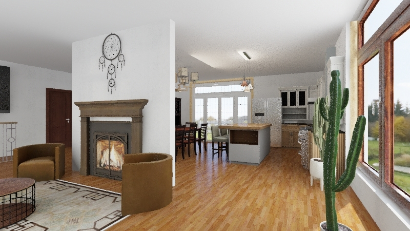 House Redesign Interior Design Render