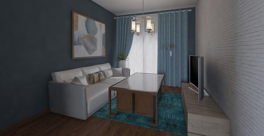 工程材料作業 Interior Design Render