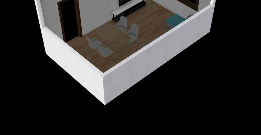 Duży pokój Interior Design Render