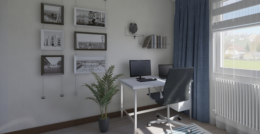 Çocuk Odası Interior Design Render