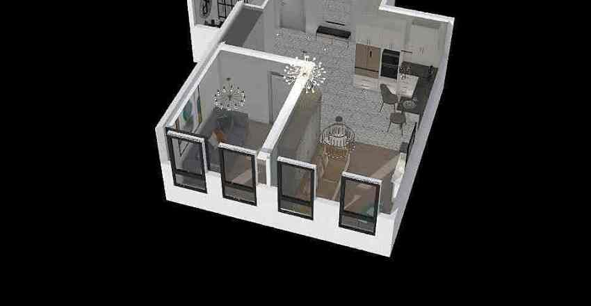 план Interior Design Render