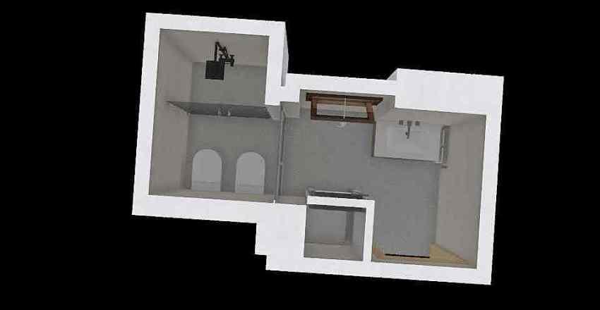 Bagno_Proposta1 Interior Design Render