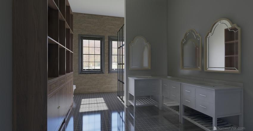 big big house. Interior Design Render