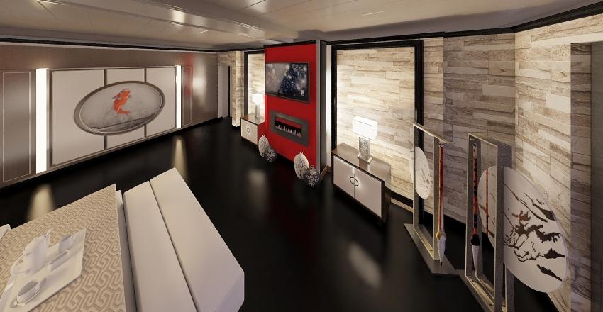 ASIAN LIFE Interior Design Render