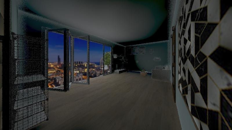 matteo lazzarin Interior Design Render