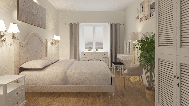 Home - Kyiv - Anna's and John's project Interior Design Render