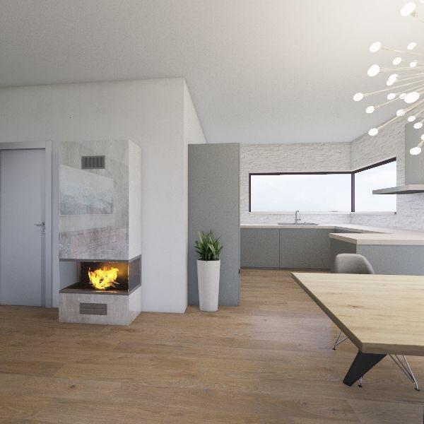 kończyce małe Interior Design Render