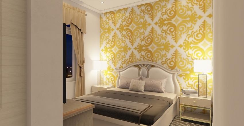 GOLD & GLAM Interior Design Render