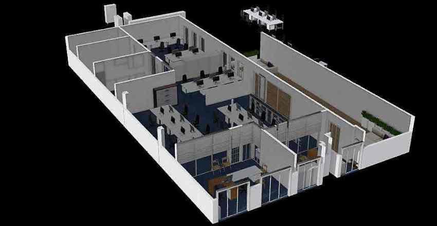 Nový návrh - poslední 1 Interior Design Render