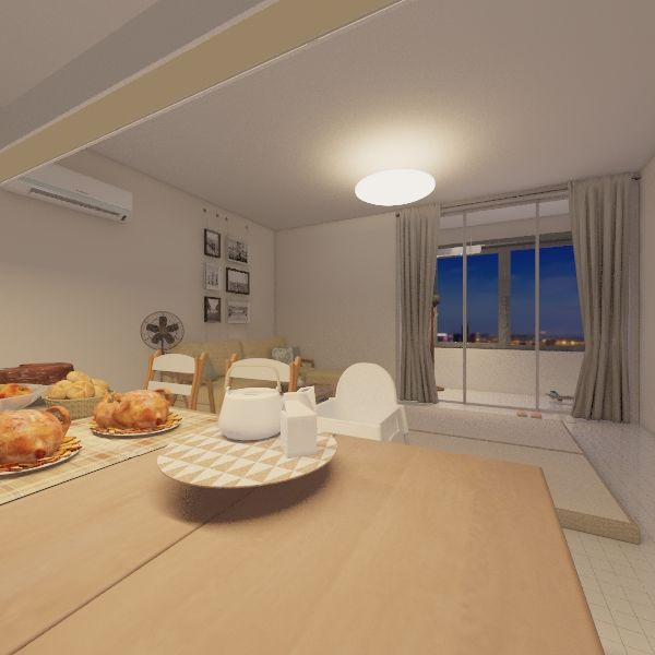 NanLiao Interior Design Render