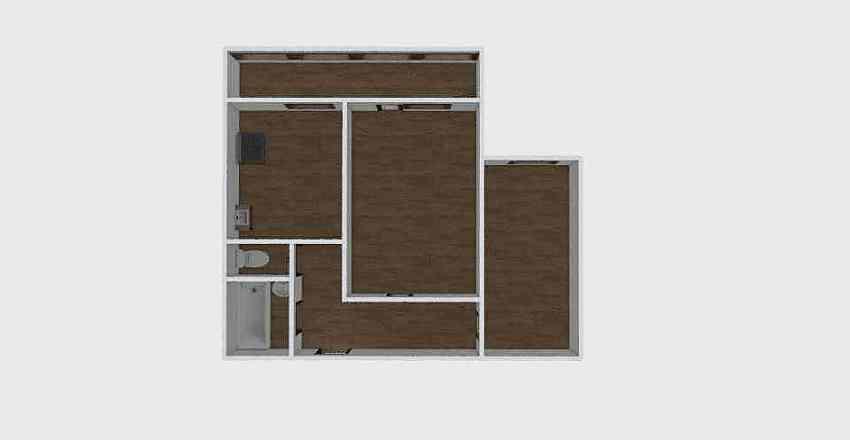 2-комн_0296_1 Interior Design Render