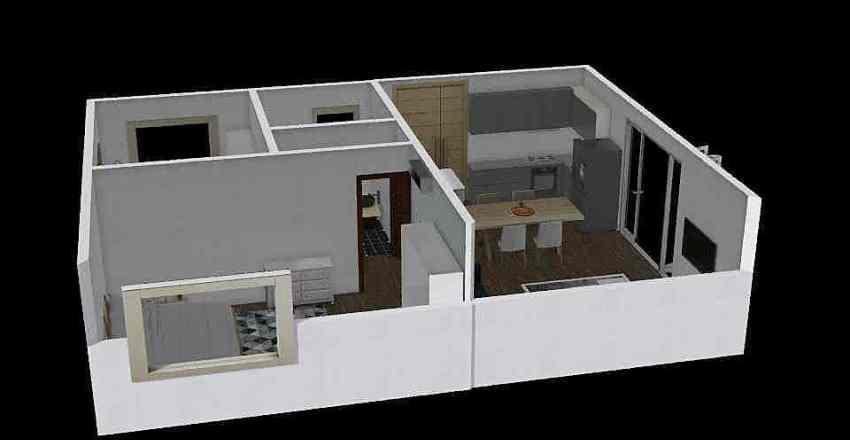 anna Interior Design Render