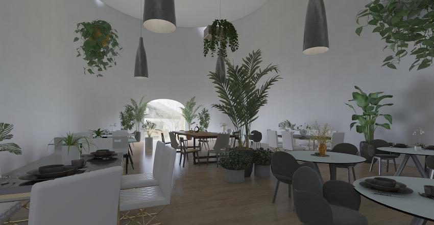 EGG BUILDING HEDA Interior Design Render