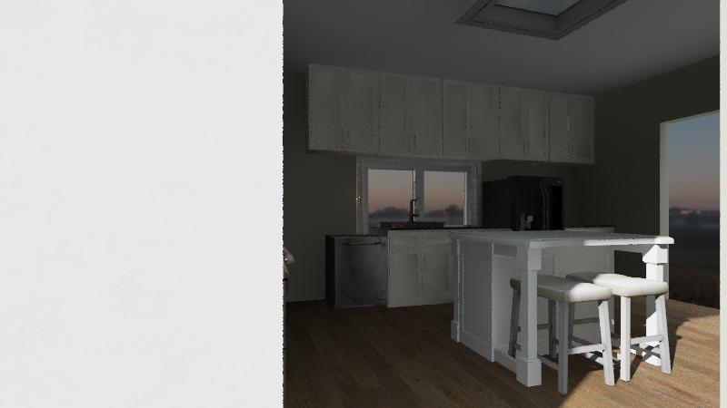 REAL KITCH Interior Design Render