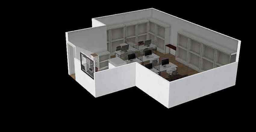 General Office - Option 3 Interior Design Render