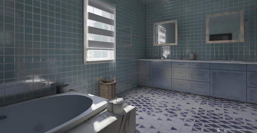 Ático malagueño  Interior Design Render