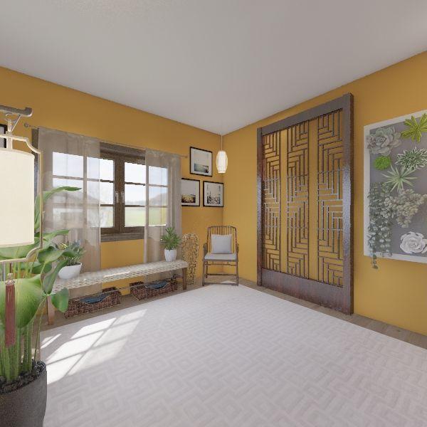 1727 Wash Heights Interior Design Render