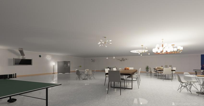 Beautiful Outdoor Living Interior Design Render