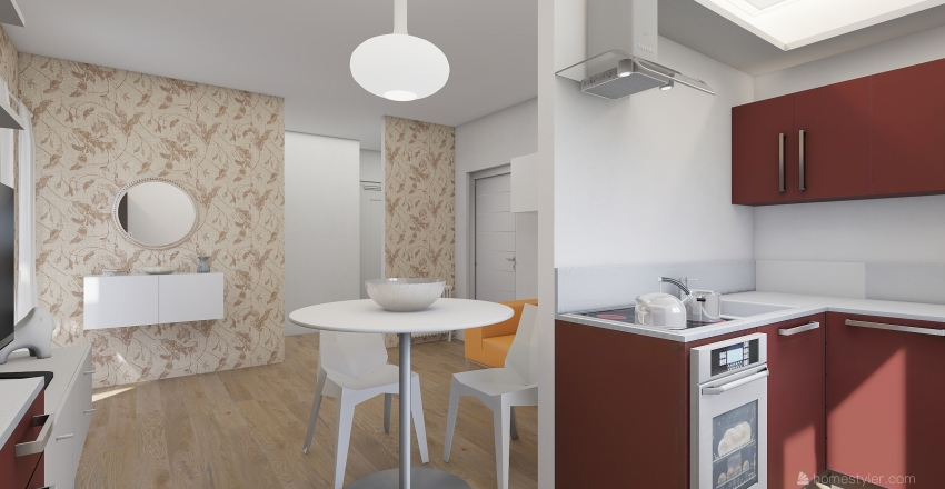 07_APPARTAMENTO Interior Design Render