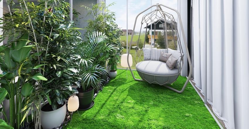 Plant lover home Interior Design Render