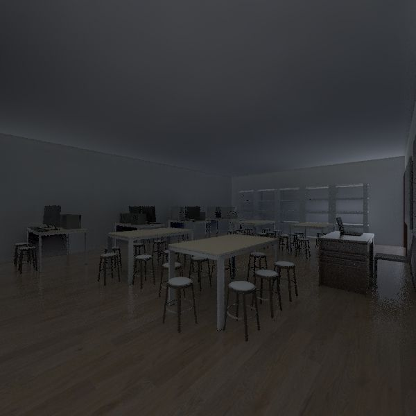 The New Makerspace Interior Design Render