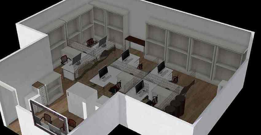 General Office - Option 1 (update) Interior Design Render