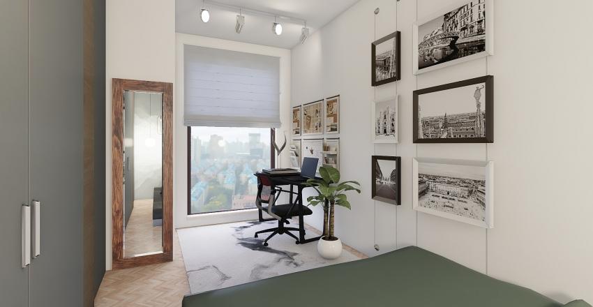 Small appartment Interior Design Render
