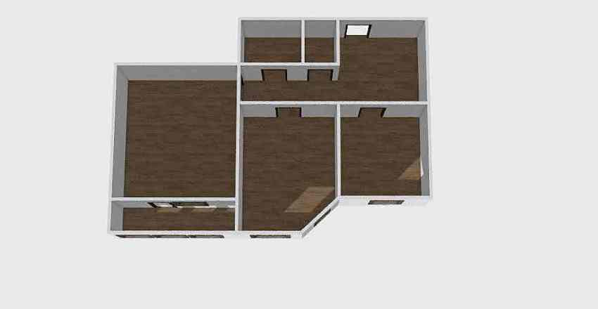 2-комн_0332 Interior Design Render