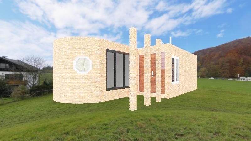 Tiny House 1 Interior Design Render