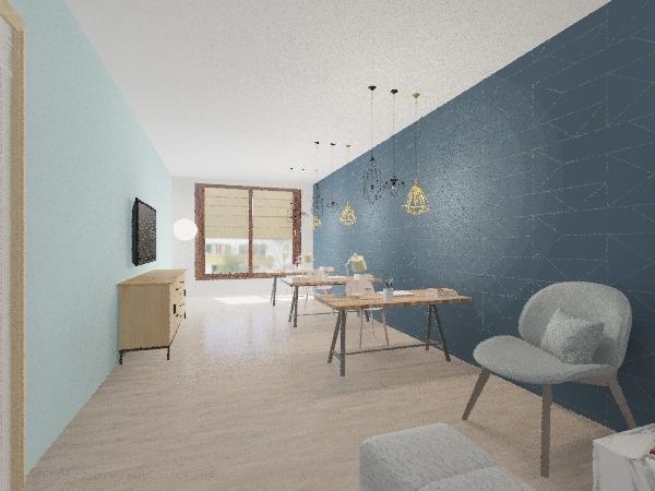 Office Hato Interior Design Render