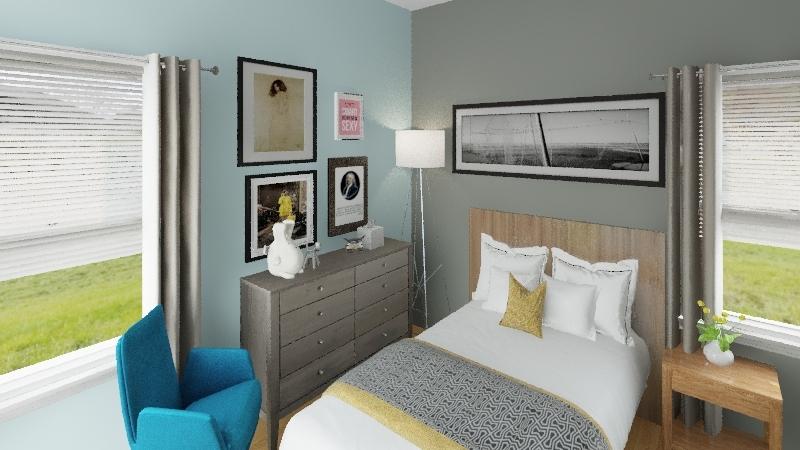 amani room Interior Design Render