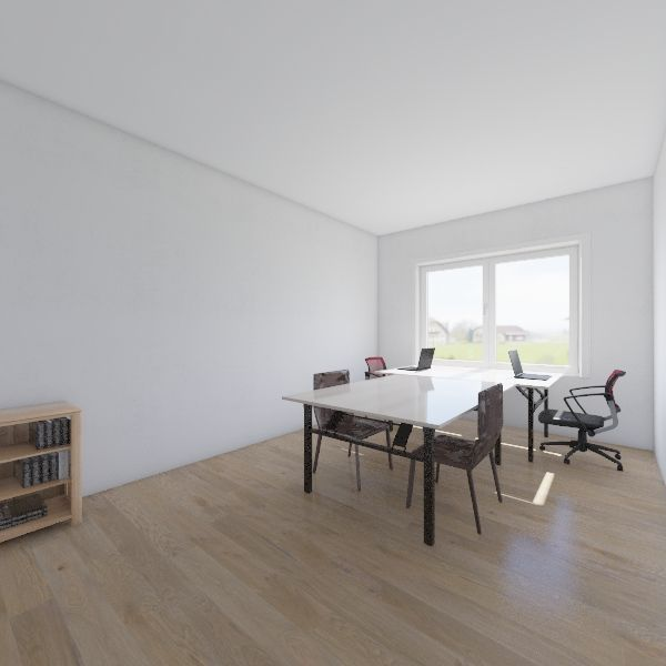 office Interior Design Render