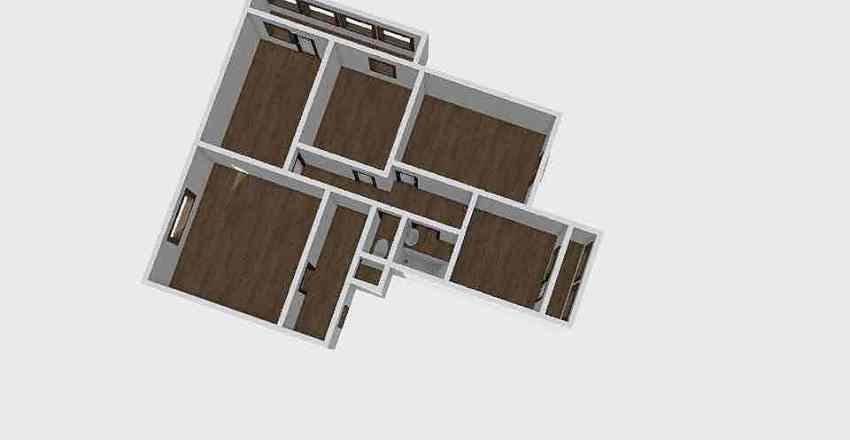 4-комн_010_1 Interior Design Render