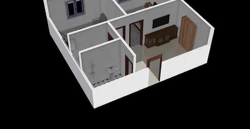 Guest House Design v2.0 Interior Design Render